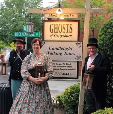 Ghosts of Gettysburg, Ghost tour